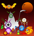 Halloween Monsters Royalty Free Stock Images - 20118919