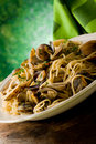 Pasta With Clams Royalty Free Stock Photos - 20135558