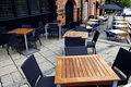 Classic European Street Cafe Royalty Free Stock Image - 20144606