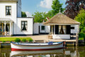 Old Villa In Holland Stock Image - 20151061