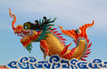 Chinese Dragon Statue Stock Images - 20185904