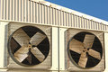 Industrial Air Conditioner Stock Image - 2026831
