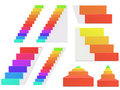 Rainbow Staircase Royalty Free Stock Photography - 20200277