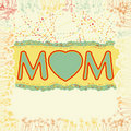 Happy Mother S Day. EPS 8 Royalty Free Stock Image - 20200356