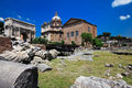Roman Forum In Rome, Italy Royalty Free Stock Photography - 20208047