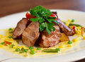 Grilled Pork Chop Royalty Free Stock Image - 20237256