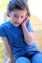 Little Girl Talking On The Cell Phone Stock Photo - 20240920