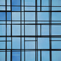 Abstract Facade Lines And Glass Reflection Royalty Free Stock Images - 20245549