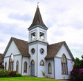 Old Church With Steeple Royalty Free Stock Images - 20275359