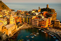 Cinque Terre Village Of Vernazza Royalty Free Stock Images - 20296859