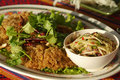 Fried, Spicy, Minced Catfish Salad Stock Image - 2037511