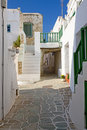 Folegandros Alley Royalty Free Stock Photos - 20304718
