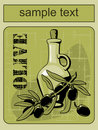 Label Olive 1 Royalty Free Stock Photography - 20315557