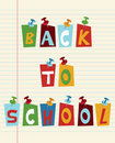 Back To School Fun Text Royalty Free Stock Photo - 20318395