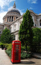 Saint Paul And A Telephone Booth Stock Photography - 20326352