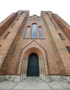 Facade Of Roskilde Cathedral Royalty Free Stock Images - 20327899