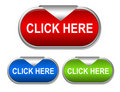 Click Here Button Stock Photography - 20333062