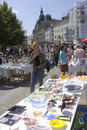 DENMARK_Consumners At Fleamarket Royalty Free Stock Photography - 20340817