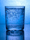 Bubbles In A Glass Of Water Royalty Free Stock Photos - 20353738