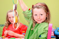 Kids Playing Art And Craft Stock Photo - 20366920