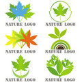 Set Of Six Logos For Nature Related Companies Stock Image - 20389151