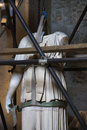 Statue Under Restoration, Rome, Italy. Stock Photography - 2041852