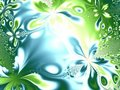 Unique Flower Texture Green  Royalty Free Stock Image - 2049526