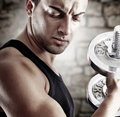 Young Man In Shape Royalty Free Stock Images - 20400879