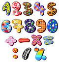 Patterned Numbers Royalty Free Stock Images - 20406859