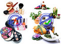 Cosmetic Vs Ayurveda Royalty Free Stock Image - 20417686