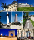 Bucharest Collage Royalty Free Stock Photos - 20424868