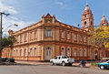 Mayor House And Cathedral Of Santo Angelo Brazil Royalty Free Stock Photography - 20431867