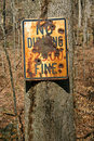 Vandalized No Dumping Sign Royalty Free Stock Photography - 20432607
