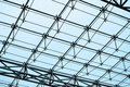Steel Structure And Glass Roof Stock Photos - 20468223