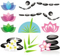 Spa Elements For Your Design Or Logo Royalty Free Stock Photos - 20484048