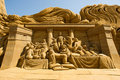 Sand Sculptor Royalty Free Stock Photography - 20485217