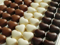 Chocolate Hearts Stock Images - 20487064