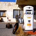 Old Gas Pump At Route 66 Royalty Free Stock Photos - 2051258