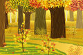 Dream Autumn Forest Stock Images - 20502764