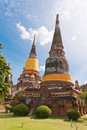 Ruin Pagoda In Ayutthaya Stock Photography - 20518022