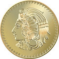 Vector Mexican Coin With The Image Of The Indian Royalty Free Stock Photos - 20539708