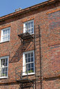 Old Fashioned Fire Escape Royalty Free Stock Photos - 20540208