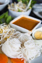 Thai Style Noodle Royalty Free Stock Photos - 20544438