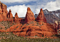 Madonna Nuns Rock Canyon Sedona Arizona Royalty Free Stock Photo - 20552485