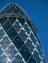 The Top Of The Gherkin Building Royalty Free Stock Photo - 20556015