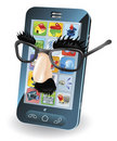 Mobile Phone Theft Concept Stock Photo - 20579450