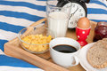Breakfast In Bed Stock Photos - 20581533
