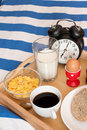 Breakfast In Bed Royalty Free Stock Photo - 20582175