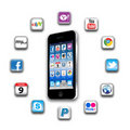 What S Apps Are On Your Mobile Network Today Stock Photo - 20589850