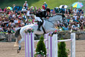 Horse Rider At The Bromont Jumping Competition Royalty Free Stock Image - 20596376